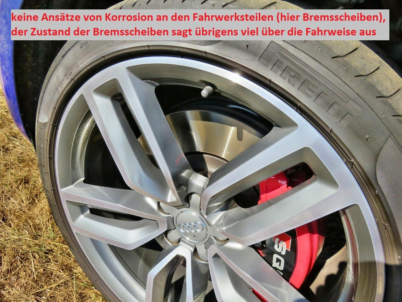 Bremsscheibe des Audi SQ5
